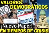 Valores democráticos y crisis de la democracia